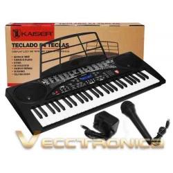 878905-MLM25123144766_102016,Fabuloso Teclado Musical  54 Teclas Funcion De Grabacion Wow