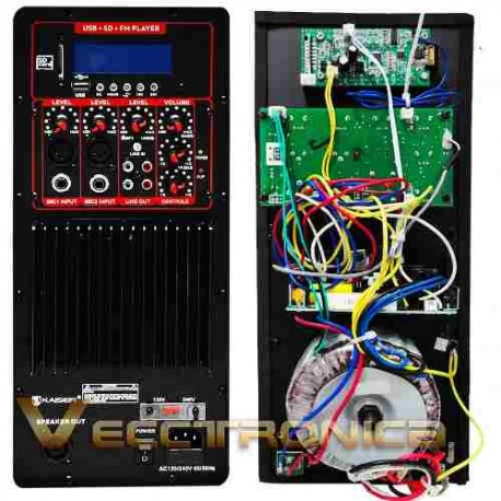 280721-MLM20833913793_072016,Bocina De 15+modulo Amplificado+ Driver Tweeter De Titanio