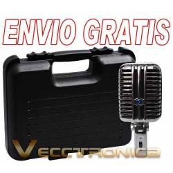 Envio Gratis: Microfono Gigante Estilo Elvis De Condensador.