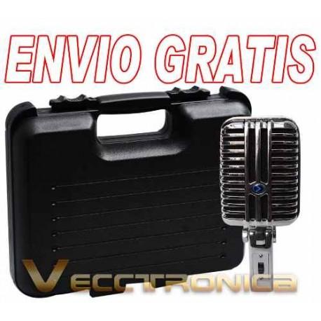 640415-MLM25231910681_122016,Envio Gratis: Microfono Gigante Estilo Elvis De Condensador.