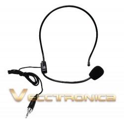 539315-MLM25232907857_122016,Microfonos De Diadema Y Solapa+ Receptor Con Maletin Genial