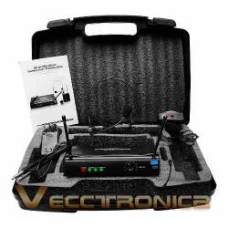 125415-MLM25232925142_122016,Fenomenales Microfonos Profesionales De Diadema Y Solapa Wow