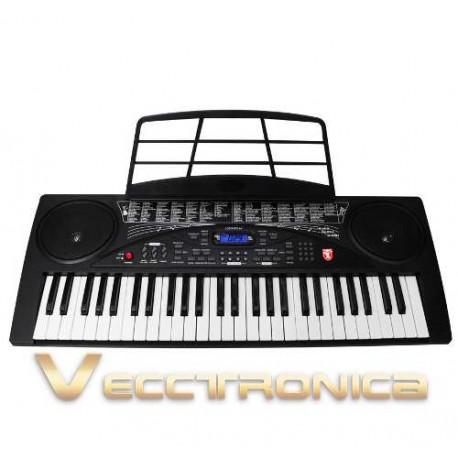 935315-MLM25232988651_122016,Teclado Musical Profesional Con 54 Teclas Y Multifunciones.