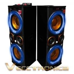 820615-MLM25249910561_122016,Combo De Bafles Tipo Torres De Audio: Activo+pasivo+regalos.