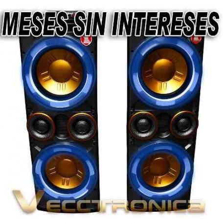 264515-MLM25249916654_122016,Vecctronica: Combo De Bafles Con Super Potencia+regalos Wow.
