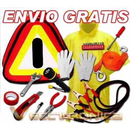 243515-MLM25262912582_012017,Envio Gratis: Kit De Emergencia Para Vehiculos + Accesorios.