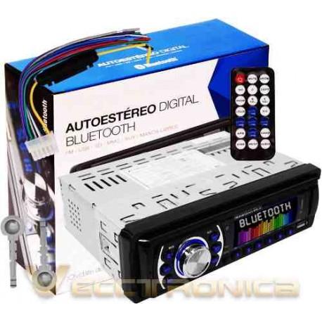 732615-MLM25280473161_012017,Autoestereo De 1 Din 180w Rms Con Bluetooth Es Sensacional.