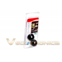 213025-MLM25346065204_022017,Grandiosa Alarma Simulada Tipó Domo Para Auto Y Hogar De Wow