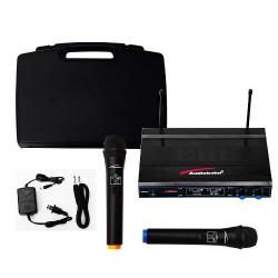 777425-MLM25458840205_032017,Vecctronica: Set De Microfonos Inalambricos Con Accesorios.