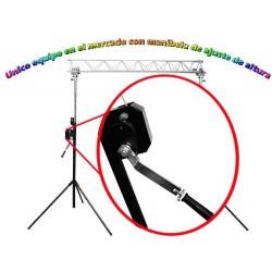 310525-MLM25459027869_032017,Increible Porteria De Luces Stand Profesional Con Manivelas