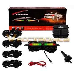 288121-MLM20707413689_052016,Increibles Sensores De Reversa Con Display! Marca Audiobahn.
