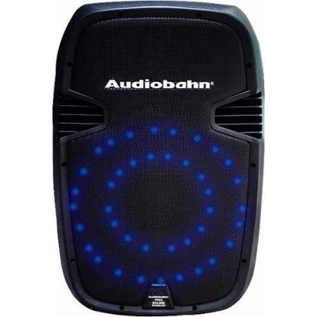 539411-MLM20558814490_012016,Bafle Recargable De 15 Con Leds Color Azul Audioritmicos.