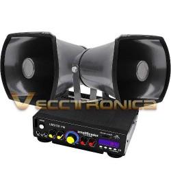 354415-MLM25232828085_122016,Combo Pack De Perifoneo Con Amplificador + Trompetas Wow.