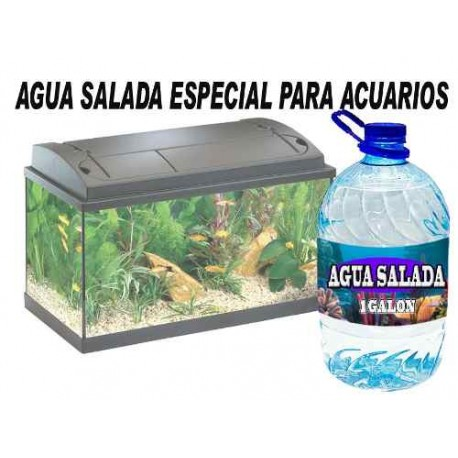 579021-MLM20691335971_042016,Agua Salada Para Fauna Marina 100% Libre De Bacterias
