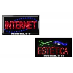 888911-MLM20654604020_042016,Letreros Luminosos Con Leds Ecologicos En Varios Modelos