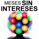 Vecctronica: Esfera Luz Disco Mas Grande Y Mas Potente! Wow.