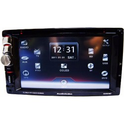 Autoestereo Pantalla Touch 6.2 Bluetooth Sd Usb Tv Dvd 200w