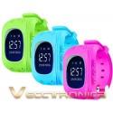 Gps Para Niños En Forma De Reloj Smartwach En 3 Diseños Vecc