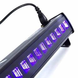 981501-MLM25596920625_052017,Barra 18 Leds Uv Ultravioleta Neon