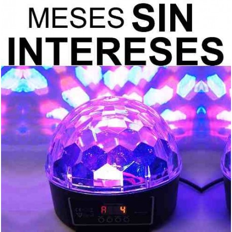 752021-MLM20680020841_042016,Vecctronica: Esfera Luz Disco Con Dmx Audioritmica C/ Efecto
