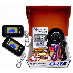 Alarma Con 2 Controles Lcd Nemesis Para Todos Los Vehiculos