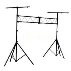 Fabuloso Stand Para Luces Tipo Porteria Soporta 150 Kg Vecc.