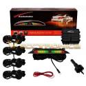 Fabulosos Sensores De Reversa Con Display Lcd Audiobahn