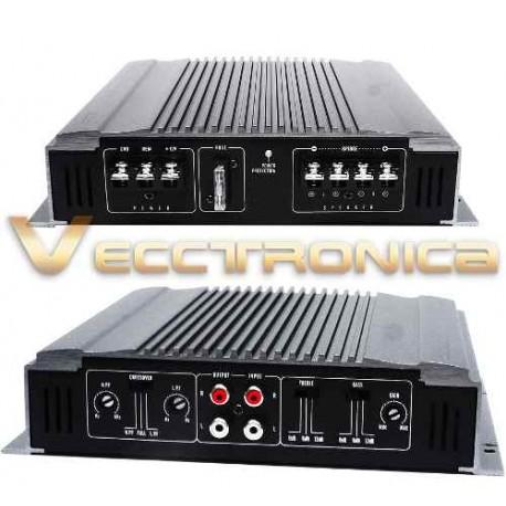602605-MLM25045152257_092016,Amplificador Profesional De 2 Canales 1150 W By Audiobahn.