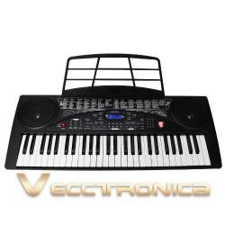 894905-MLM25123142972_102016,Fabuloso Teclado Musical  54 Teclas Funcion De Grabacion Vec