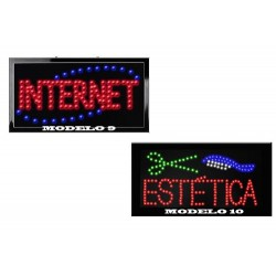 Envio Gratis Letreros Luminosos En Diferentes Modelos Vecc.