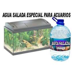 579021-MLM20691335971_042016,Agua Salada Para Fauna Marina Salada 100% Libre De Organismo
