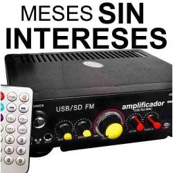 576021-MLM20682773765_042016,Vecctronica: Amplificador De Perifoneo Usb / Sd Y Radio Wow.