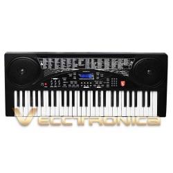 843415-MLM25232987721_122016,Teclado Musical Profesional. 54 Teclas, Multiples Funciones.