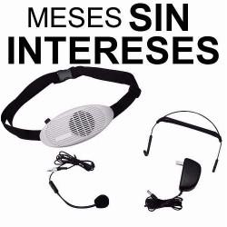 Vecctronica: Megafono Portatil C/ Microfono Diadema Y Solapa