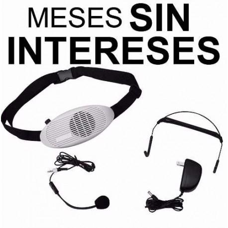 575021-MLM20682795754_042016,Vecctronica: Megafono Portatil C/ Microfono Diadema Y Solapa