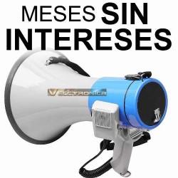 Vecctronica: Megafono Con Bandolera, Espiral Y Microfono New
