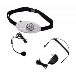 395311-MLM20529547212_122015,Megafono Profesional Con Baterias Y Microfono De Diadema Wow