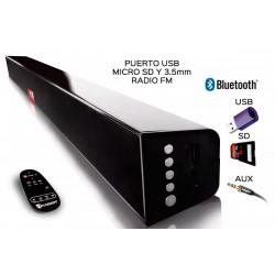 Barra De Sonido Cinema Soundbar 2.1 Bluetooth/usb/sd/fm