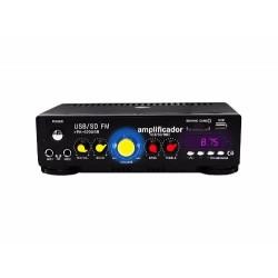 590211-MLM20488551214_112015,Amplificador Profesional Para Perifoneo Entradas Usb/sd 150w