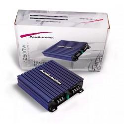 Amplificador Audiobahn 1500w De Potencia A Bocinas Y Woofers
