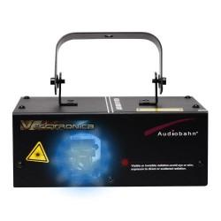 Laser Multiformas 3d Azul Audiobahn Con Multifunciones Y Dmx