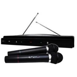 225001-MLM20257421734_032015,Par De Microfonos Inalambricos 50 M. Profesionales Frec. Vhf