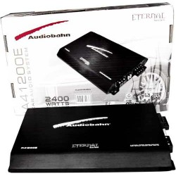 Amplificador Serie Eternal Audiobahn  2400w 4 Canales Bafles