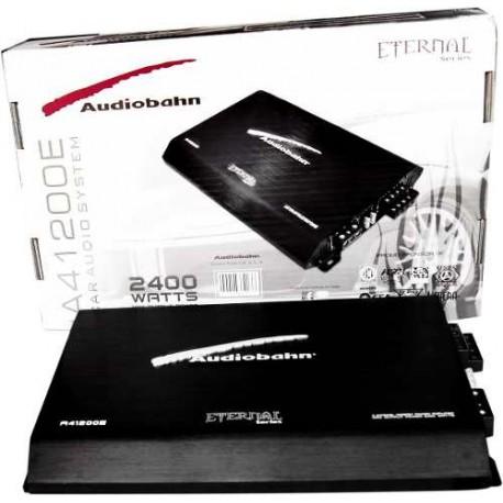 324201-MLM20287811432_042015,Amplificador Serie Eternal Audiobahn  2400w 4 Canales Bafles