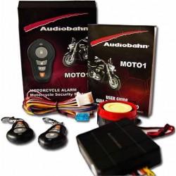 786701-MLM20372470543_082015,Alarma Audiobahn Para Moto 3ch Con 2 Controles Inteligentes.