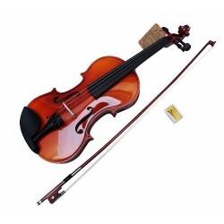 602411-MLM20537321115_012016,Violin De Madera Profesional C/regalos Dos Tamaños A Elegir.