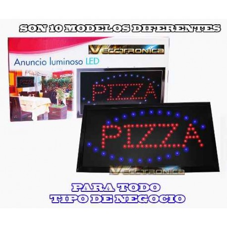 699911-MLM20654603089_042016,Anuncios Luminosos Con Leds Ecologicos Con Modelos A Elegir