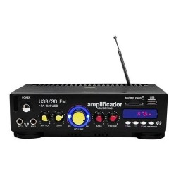 Amplificador Profesional Para Perifoneo Entradas Usb/sd 150w
