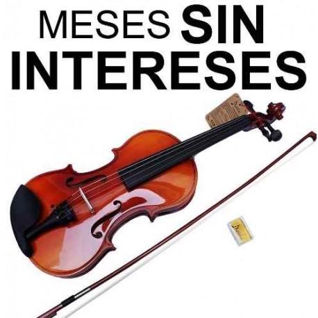 202121-MLM20718777505_052016,Vecctronica: Kit Violin 4/4 Con Estuche Brea Y Arco Nuevos.!