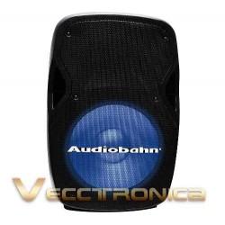 554421-MLM20780712412_062016,Bafle 15 Pasivo Audiobahn Con Hyper Leds Azules Audioritmico